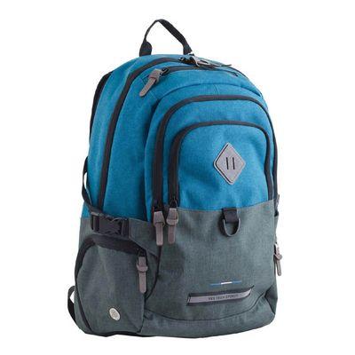 Рюкзак Yes T-35 Edmond 49*33*18,5 с отделением для ноутбука, голубой/серый