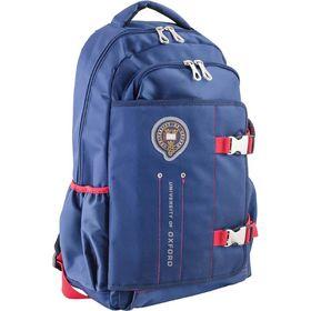 Рюкзак молодёжный Yes OX 302 47 х 30 х 14.5 см, эргономичная спинка, синий