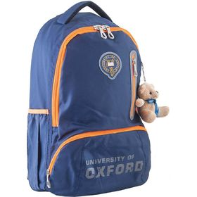 Рюкзак молодёжный Yes OX 280 45.5 х 29 х 18 см, эргономичная спинка, синий