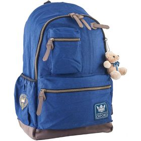 Рюкзак молодёжный Yes OX 236 47 х 30 х 16 см, эргономичная спинка, синий