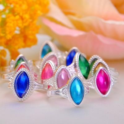 """Ring children's """"Vibracula"""" ellipse, color MIX, size MIX"""