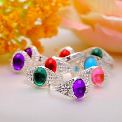 "Ring children's ""Vibracula"" oval, MIX color, MIX size"