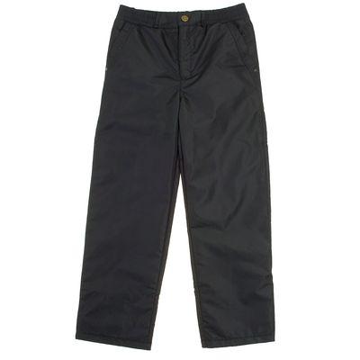 Брюки для мальчика, рост 152 см, цвет чёрный 10-262