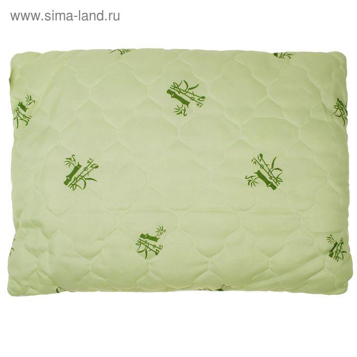 Подушка 50х70 бамбук, полиэфир 65г/м