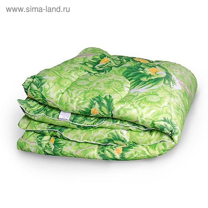 Одеяло 1,5сп 142х205 холлофайбер 200г/м, пэ 65г/м МИКС