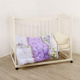 Одеяло детское 120х140 холлофайбер 200г/м, пэ 65г/м Ош