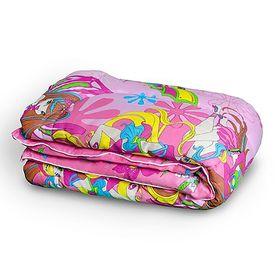 Одеяло детское 120х140 холлофайбер 200г/м, бязь 125г/м, хл100% Ош