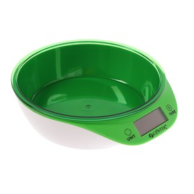 Весы кухонные Centek CT-2454, электронные, до 5 кг, подсветка LCD Ош