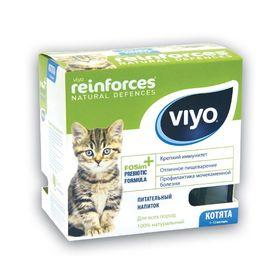 Пребиотический напиток VIYO Reinforces Cat Kitten для котят, 7 х 30 мл