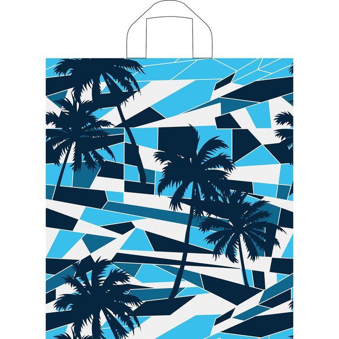 """Пакет """"Майами"""", полиэтиленовый с петлевой ручкой, 42х38 см, 33 мкм - фото 205861306"""