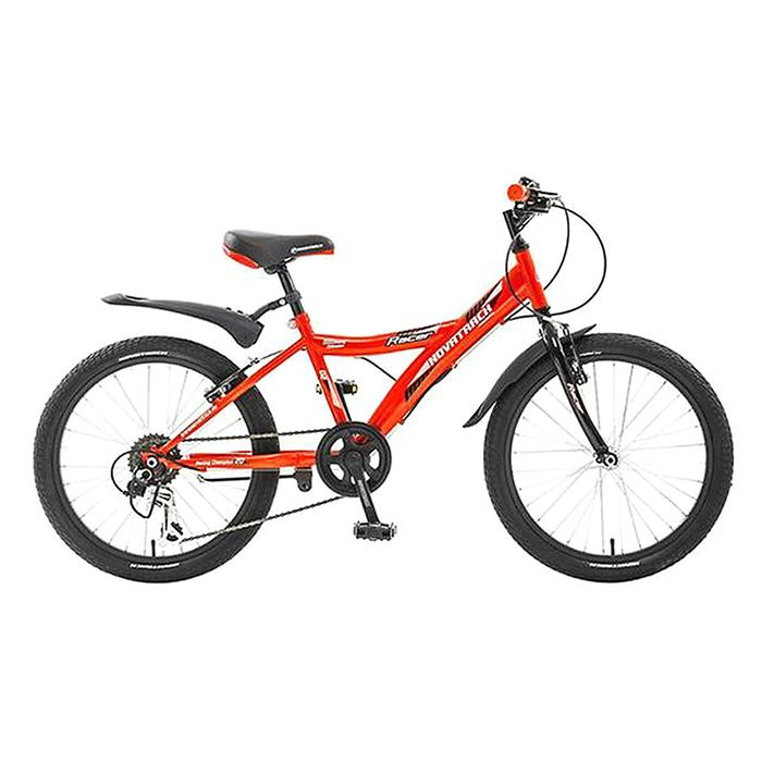 """Велосипед 20"""" Novatrack Racer, 2017, 6ск., цвет красный"""
