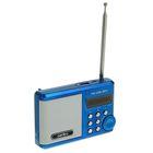 Радиоприемник Perfeo Ranger, УКВ+FM, MP3, USB, синий