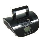 Радиоприемник Perfeo STILIUS BT, FM, MP3, USB, часы-будильник, черный