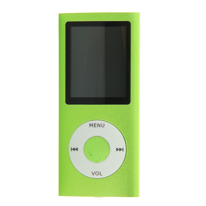 Mp3 плеер Perfeo I-Sonic, зелёный