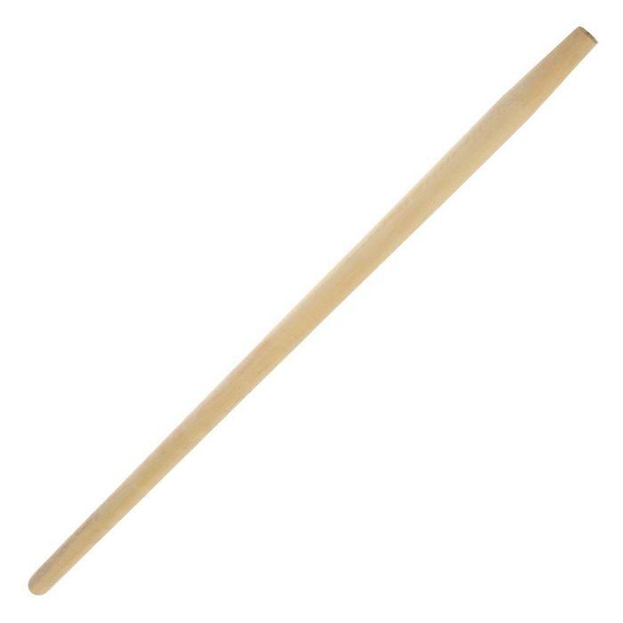 Черенок деревянный, d=40 мм, длина 120 см, первый сорт, с конусом