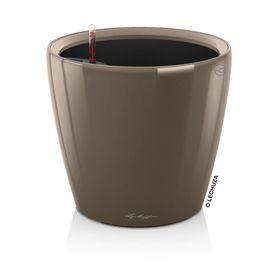 Кашпо с автополивом «Классико», цвет серо-коричневый