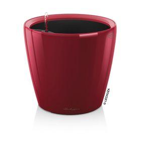 Кашпо с автополивом «Классико», цвет красный