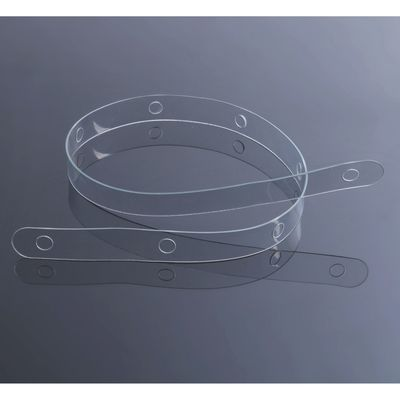 Hook plastic with fixing L=60, (packaging 20 PCs), color: transparent