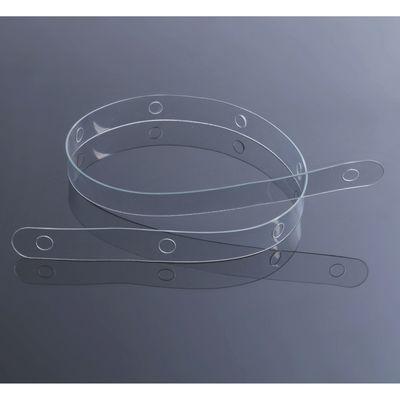 Стрип лента пластиковая с креплением L=60, цвет прозрачный