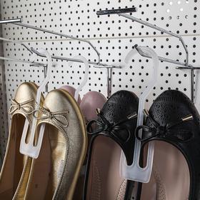 Вешалка для обуви L=16, (фасовка 12 шт), цвет белый Ош