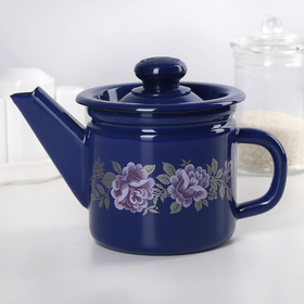 1 teapot, fixed handle, MIX.