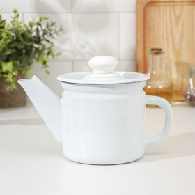 1 L teapot, fixed handle, light.