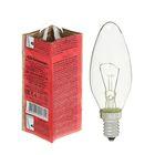 Лампа накаливания КЭЛЗ, ДС, 60 Вт, E14, 230 В