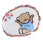 Soft toy pillow round with a bear