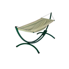 The hammock on the stand
