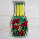 Пакет для цветов (ваза) с открыткой