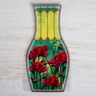 """Package for flowers (a vase) with a card, """"Beloved mother"""""""