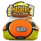 """Игрушка R2P Masher """"Мячик с 3-мя орбитами""""  для собак ,10 см вспененная резина с покрытием тенисного"""