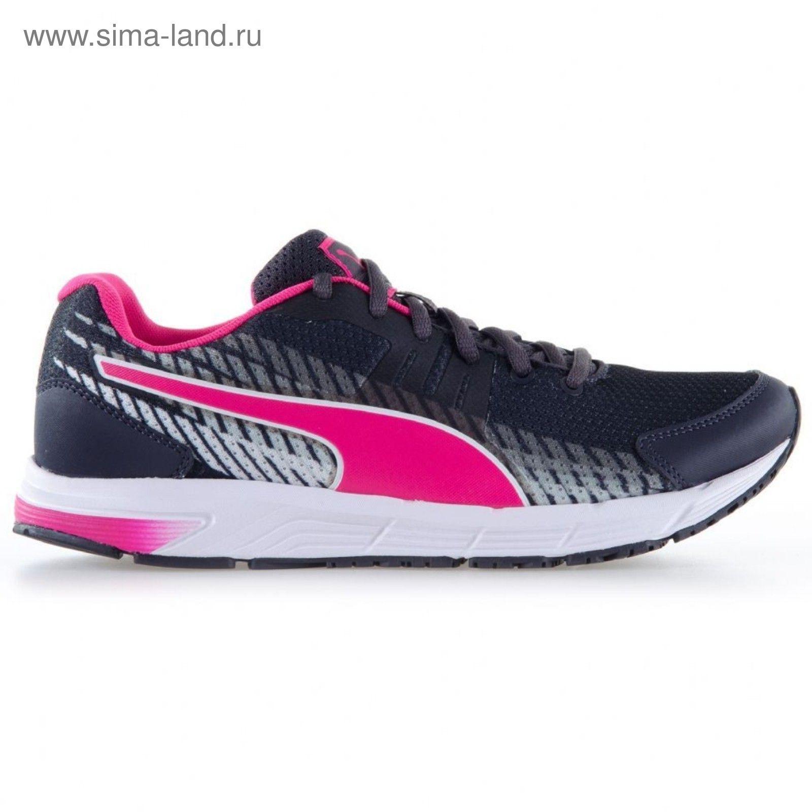 e890db68 Кроссовки для бега женские Sequence v2 Wn Periscope-Pink Glo-Puma W ...