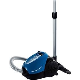 Пылесос Bosch BSM1805RU, 1800 Вт, мощность всасывания 300 Вт, 3 л, синий