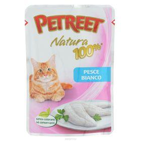 Влажный корм Petreet для кошек, белая рыба, 85 г