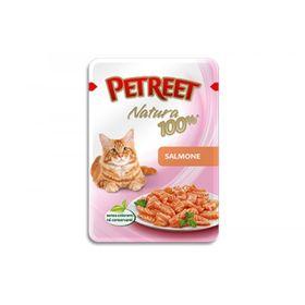 Влажный корм Petreet для кошек, Лосось, 85 г