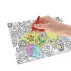 Раскраска-вкладка для термокружки