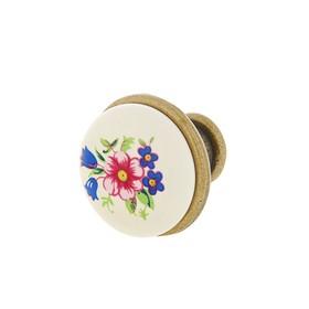 Ручка-кнопка (мод. 978-MLK-1), керамика