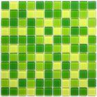 Мозаика стеклянная Bonaparte, Apple mix 300х300х4 мм