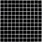Мозаика стеклянная Bonaparte, Black glass 300х300х4 мм