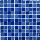 Мозаика стеклянная Bonaparte, Blue wave-1 300х300х4 мм