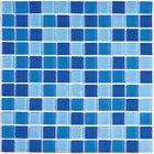 Мозаика стеклянная Bonaparte, Blue wave-2 300х300х4 мм