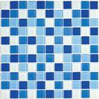 Мозаика стеклянная Bonaparte, Blue wave-3 300х300х4 мм