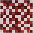 Мозаика стеклянная Bonaparte, Brown mix 300х300х4 мм