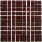 Мозаика стеклянная Bonaparte, Deep brown 300х300х4 мм