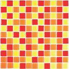 Мозаика стеклянная Bonaparte, Fruit mix 300х300х4 мм