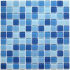 Мозаика стеклянная Bonaparte, Navy blue 300х300х4 мм