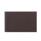 Визитница V.1.LG. коричневый,11,2*7*1,3 ряд, 20 визиток