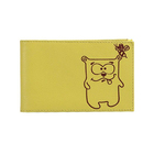 Визитница V.38.CH. лимон,11,2*7*1,1 ряд, 40 визиток