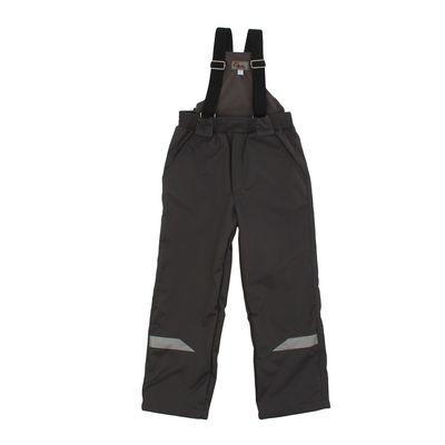 Полукомбинезон для мальчика, рост 110 см, цвет тёмно-серый 11-202М
